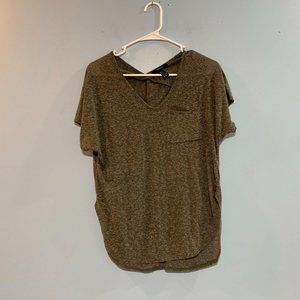 Forever 21 Grey Thin T-Shirt Small